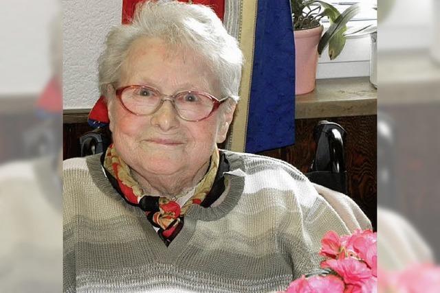 Frieda Weiß wurde 85 Jahre