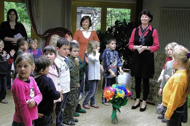 Irene Kienzle-Brum als Leiterin verabschiedet