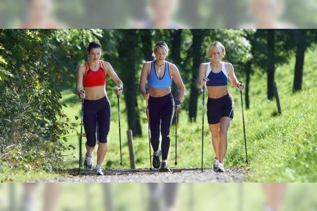 Trendsport Nordic Walking erleben