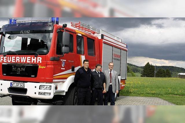 Feuerwehr besser gerüstet