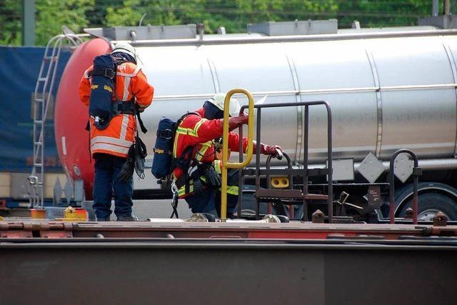 Gefahrgut: Weiler Feuerwehr kritisiert die Bahn heftig