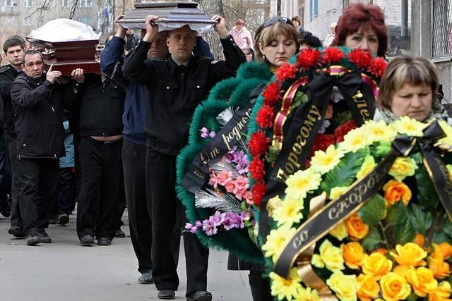 Noch mehr Tote bei Grubenunglück in Sibirien