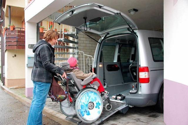 Bürger helfen der schwerstbehinderten Hannah-Sophia Herr aus Oberrotweil
