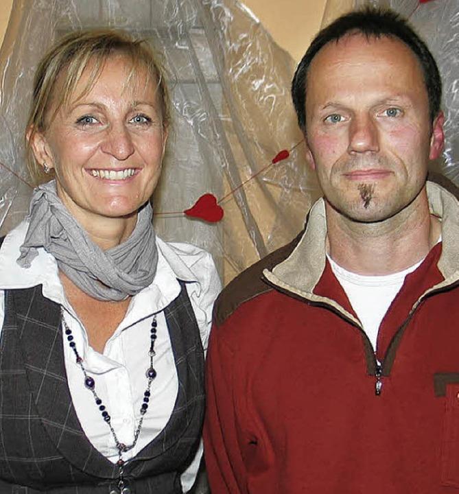 Neue Führung beim Förderkreis der Mich... Patricia Schäfer und Achim Zipperle.     Foto: Hassler