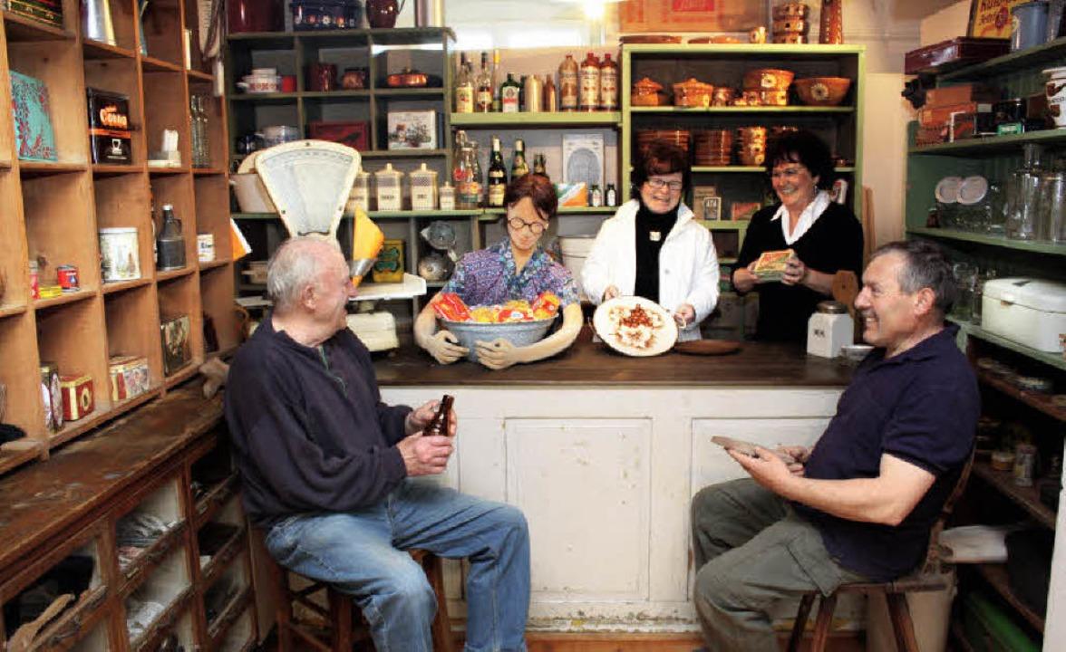 Zum Dorfladen umgestaltet ist das Eichstetter Dorfmuseum.  | Foto: christa rinklin