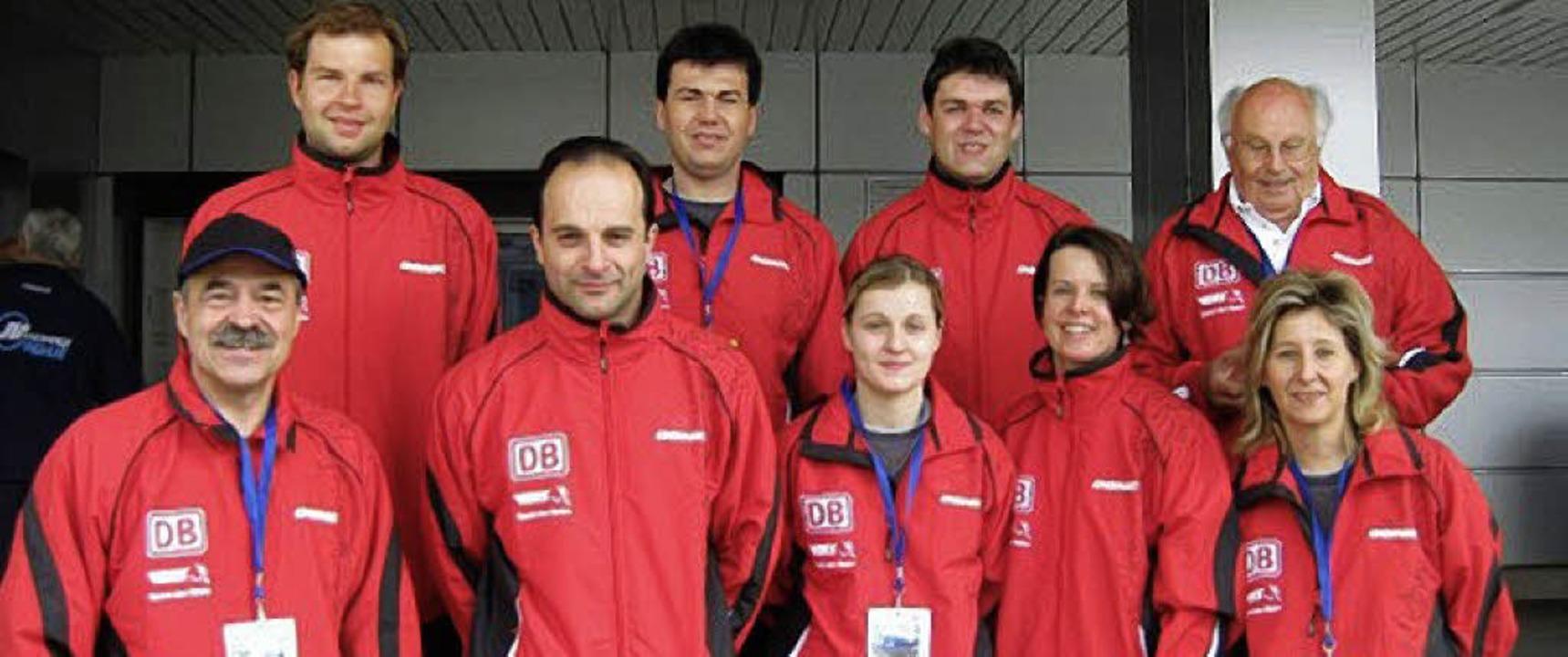 Isabell Röder (vordere Reihe, Mitte) l...r-Nationalteam auf dem sechsten Rang.     Foto: Privat