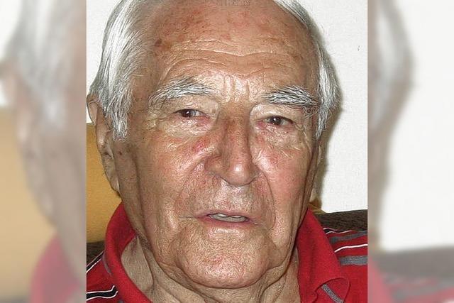 Eugen Biegert wird 90 Jahre
