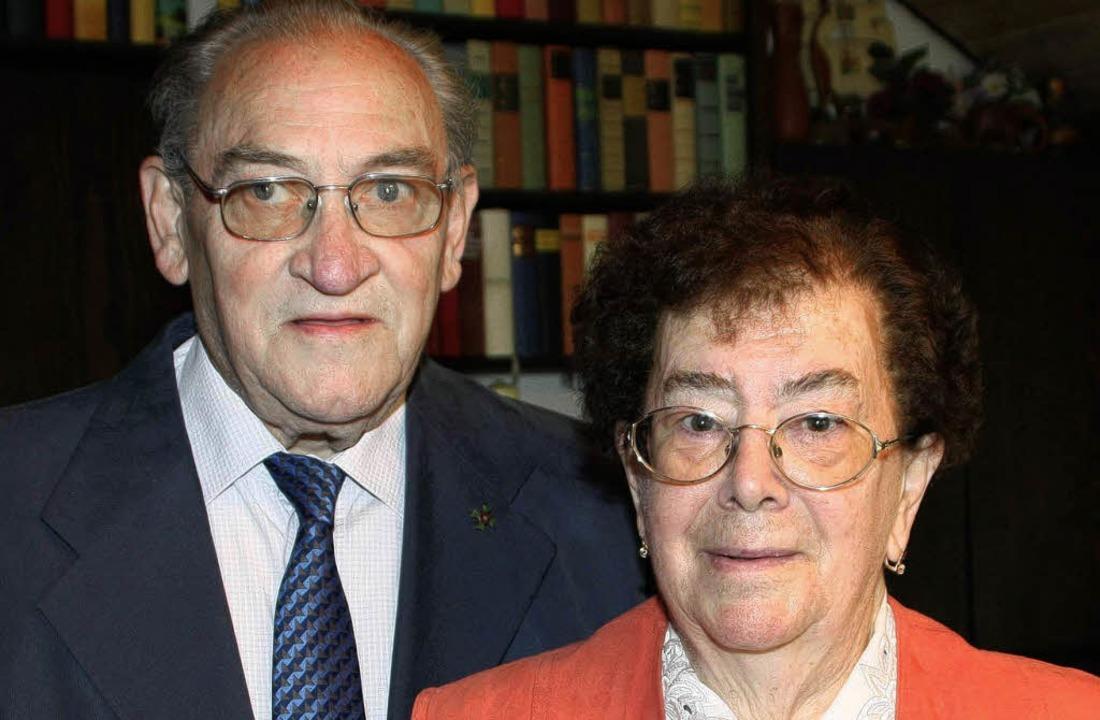 Ernst und Margarete  Gottlieb    Foto: Ulrike Hiller