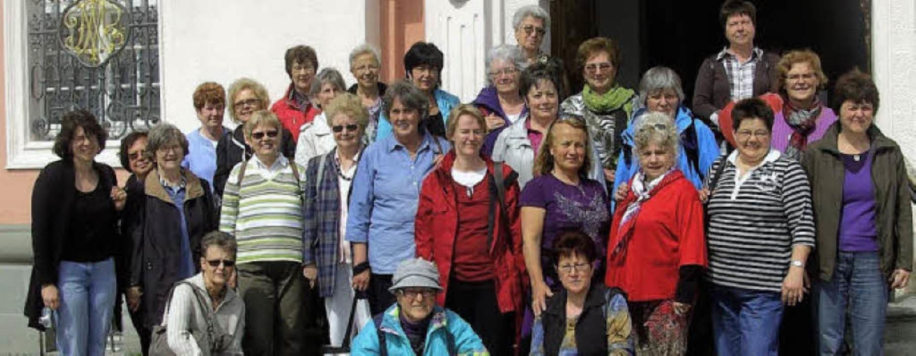 Nach Konstanz zog es die Frauen des Gesangvereins Haltingen.     Foto: Privat