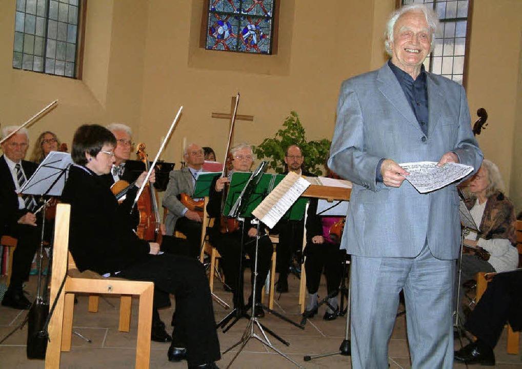Nach längerer Pause trat das Collegium...der einmal mit zwei Konzerten hervor.   | Foto: Roswitha Frey