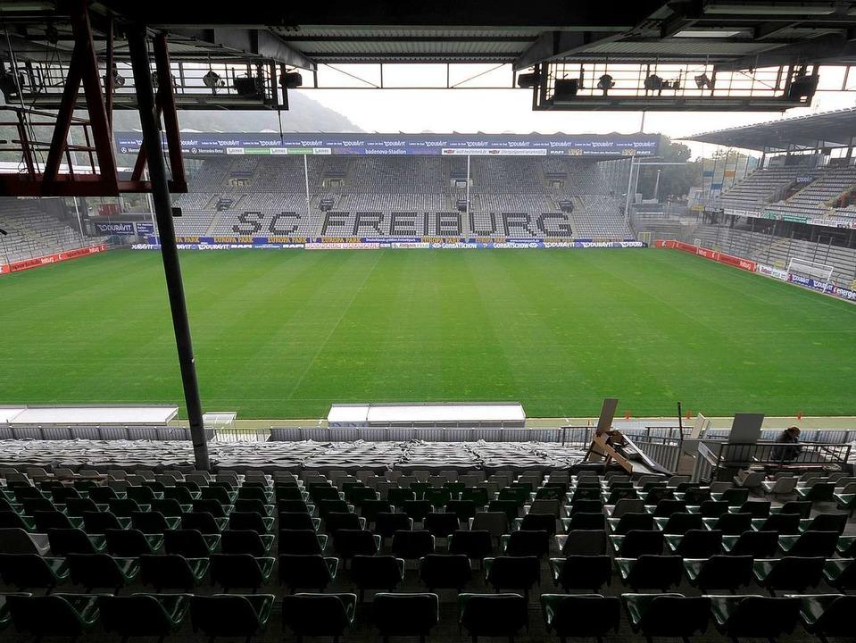 Nicht mehr den Anforderungen gewachsen?  Das  Badenova-Stadion     Foto: schneider