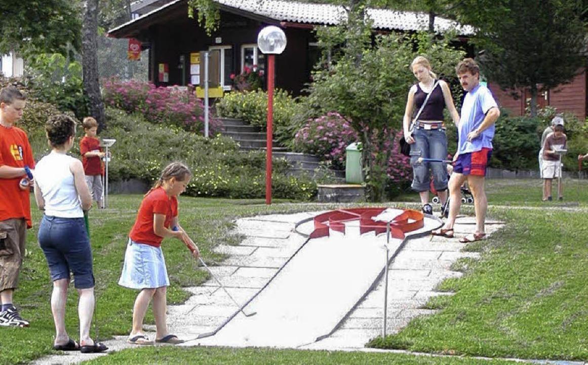 """""""Bahn frei"""" heißt es am Wo... des Freizeitzentrums in Herrischried.    Foto: Archivfoto: Wolfgang Adam"""