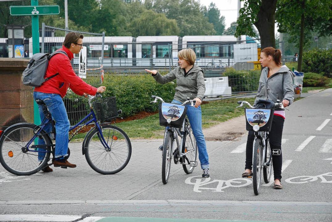 Nicht nur Offenburg, auch Straßburg er...inen flächendeckenden Fahrradverleih.     Foto: BRi