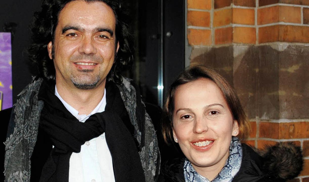 Gäste aus Porto: Augusto Pacheco und Luísa Coelho.     Foto: R. Ullmann