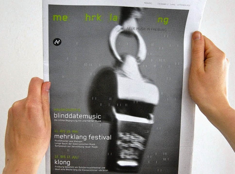 Anpfiff:  Plakat zum Festival    Foto: mehrklang