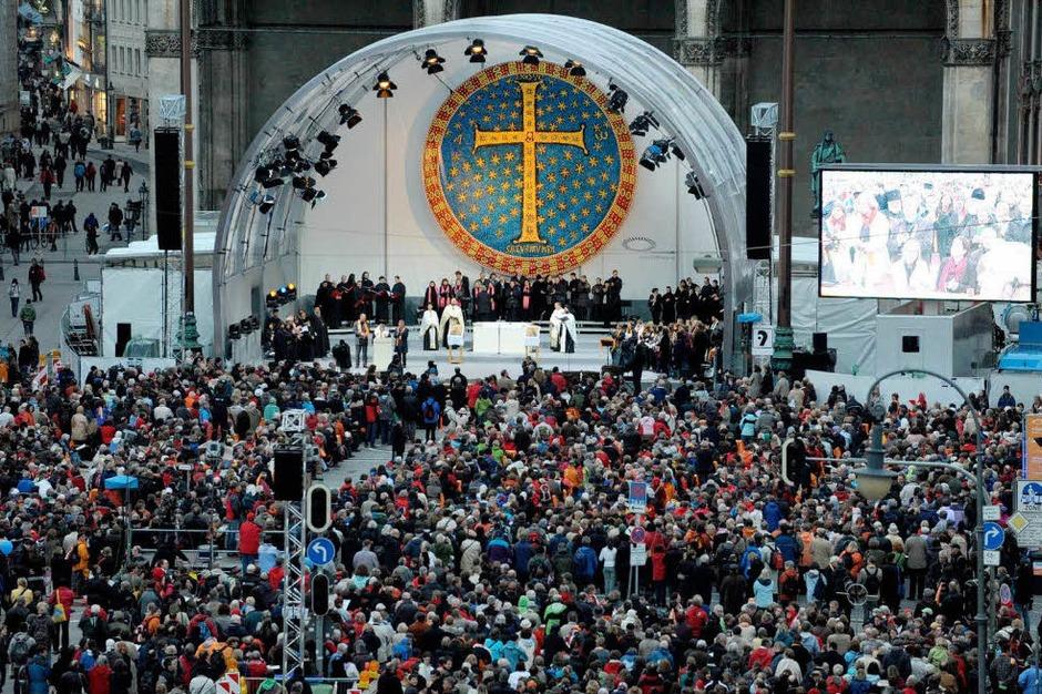 2. Ökumenischer Kirchentag in München (Foto: dpa)