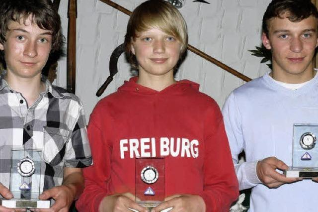 Junge Aushängeschilder des Vereins