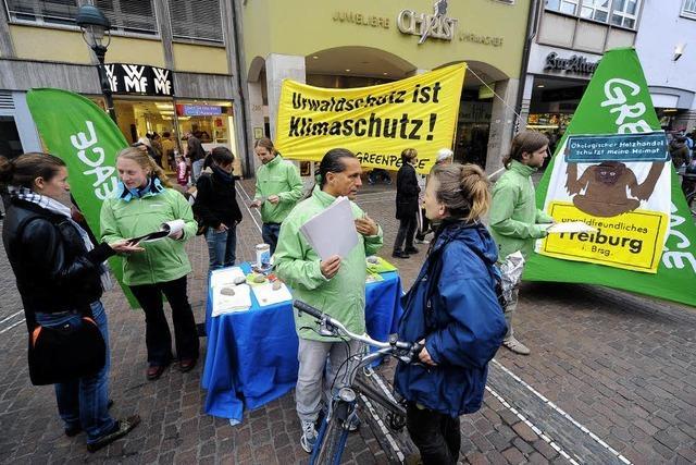 Freiburg als urwaldfreundliche Stadt?