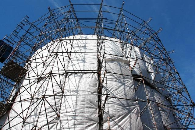Faulturm wird grundlegend saniert