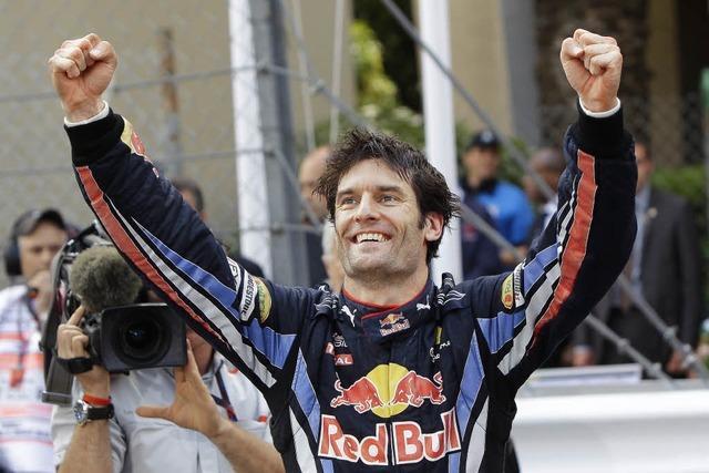 Doppelsieg für das Duo Webber und Vettel