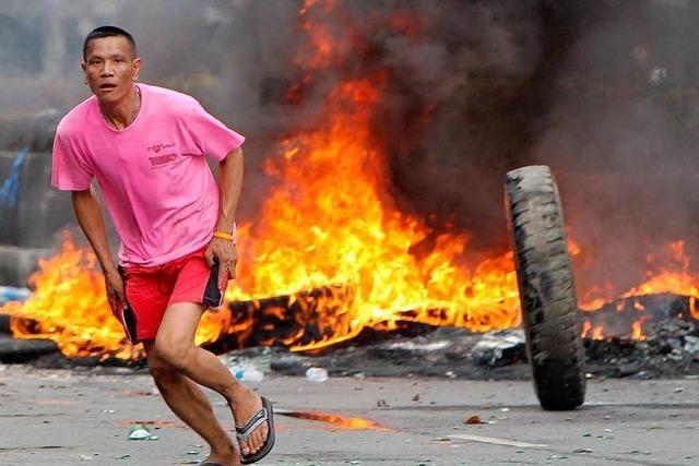 Gewalt in Thailand eskaliert