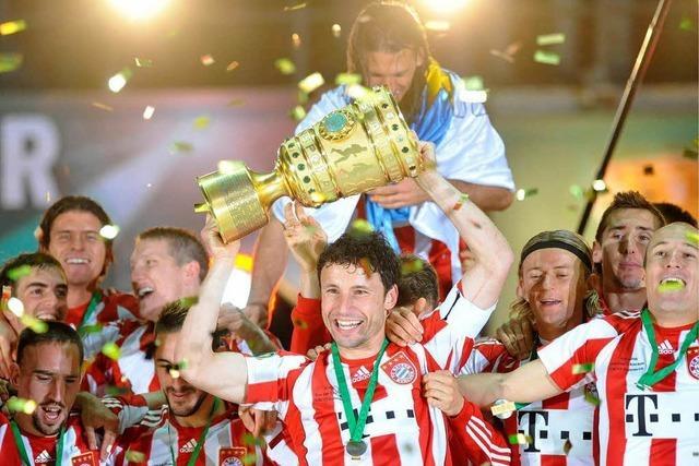 Der FC Bayern ist auf dem Weg zum Triple