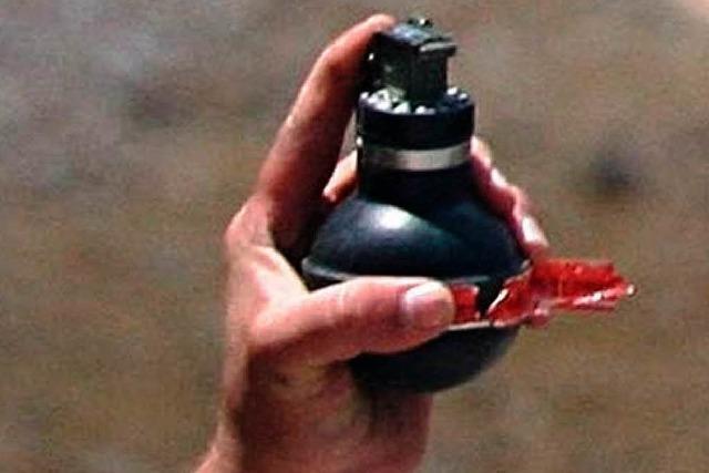 Handgranate explodiert vor Freistetter Discothek