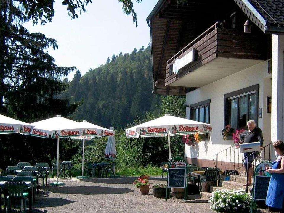 Gasthaus Präger Böden.    Foto: Privat
