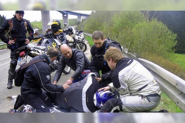 Erste Hilfe speziell für Motorradfahrer