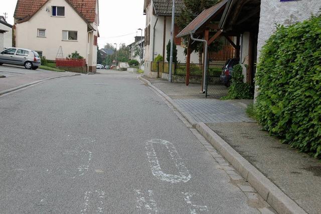 Zu schnell in der Hofenstraße