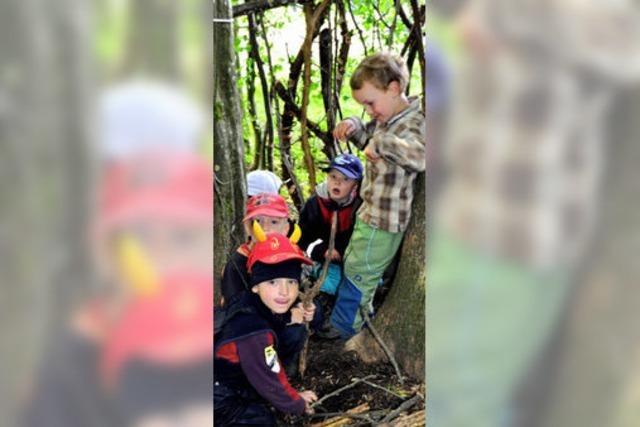Waldkindergarten fünf Jahre alt