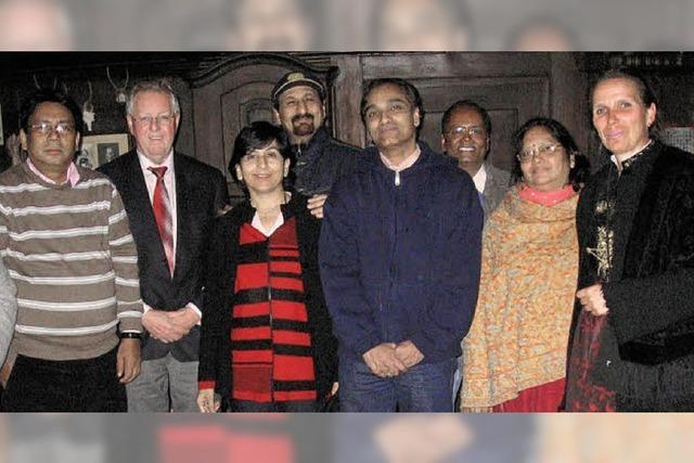 Indische Gäste besuchten das Heimatmuseum
