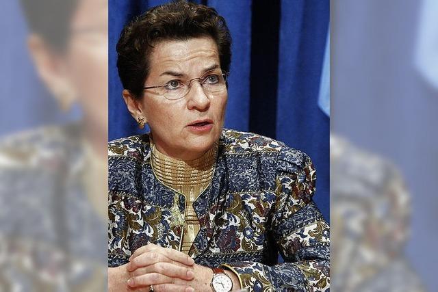 Christina Figueres: Vermittlerin hinter den Kulissen