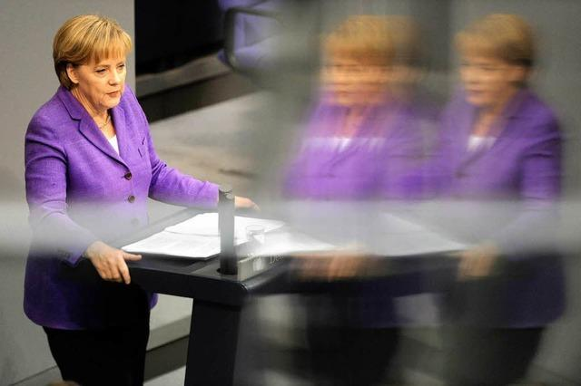 Merkel: Euro-Krise bedroht Europäische Union