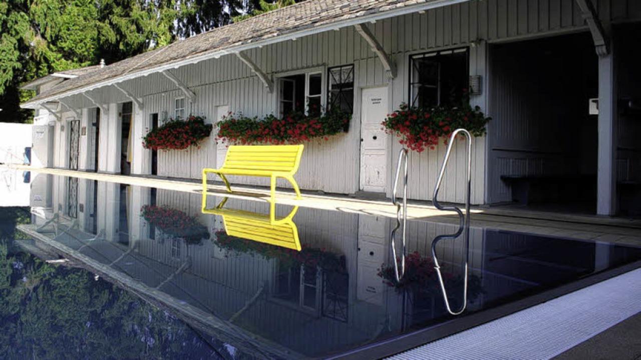 Angenehm zeitlos: Das Loretto-Damenbad...sweit das einzige Freibad  ohne Männer  | Foto: Lavori-verlag