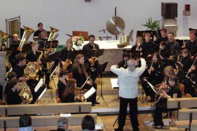 Klangstarke Gemeinschaft mit anspruchsvoller Musik