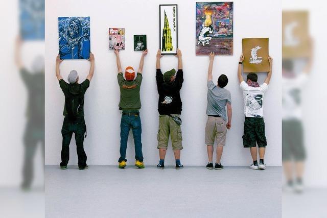 Städtischer Kunstlauf: raus aus dem Untergrund