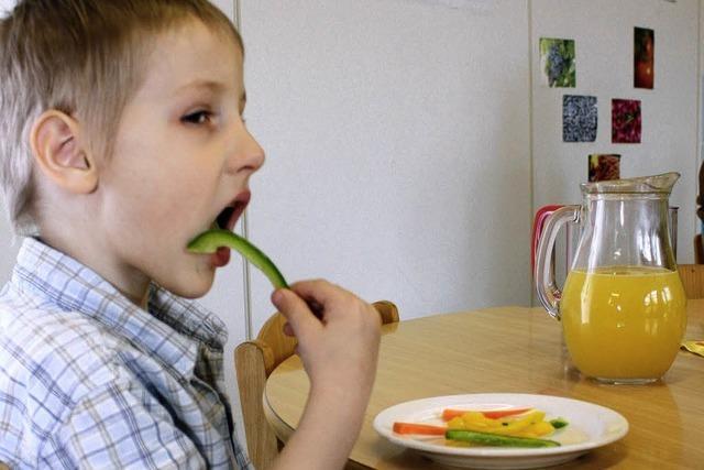 Kita Kunterbunt: Und Gemüse schmeckt doch...
