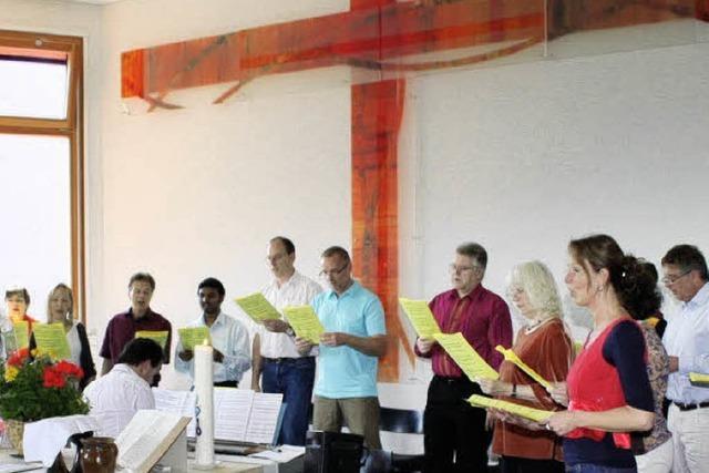 Der Pfingstgedanke steckt in der Musik