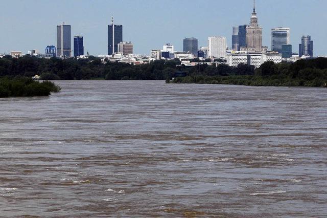 Polen kämpfen gegen Fluten
