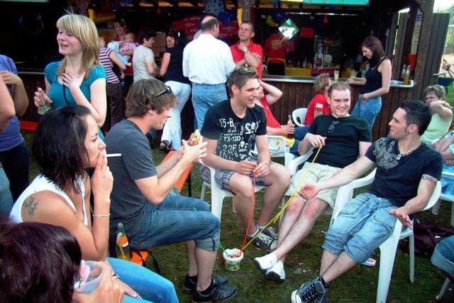 Beim B-Fest kam echte Sommerstimmung auf