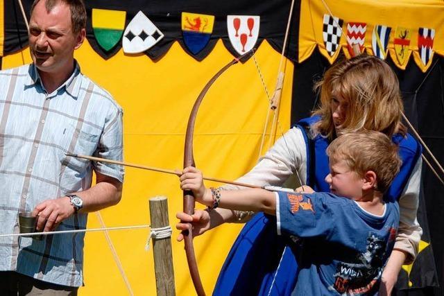 Sasbach: Sturm aufs mittelalterliche Lager