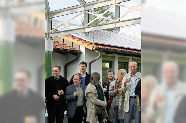 Drei Anlagen für Photovoltaik im Fachwerkdorf
