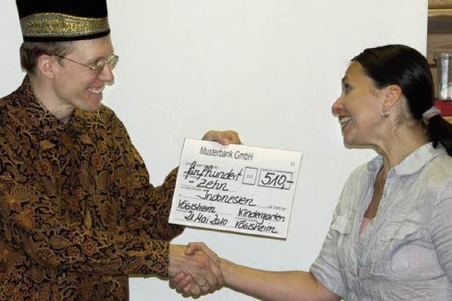 Spende für Indonesien