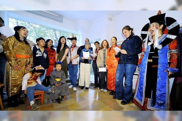 Mongolischer Chor: Gut bei Heimweh und bei Fernweh