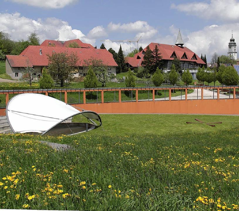 Das 3.  Künstlersymposium findet  vom ...ust im Kurpark in Grafenhausen statt.     Foto: Wilfried Dieckmann