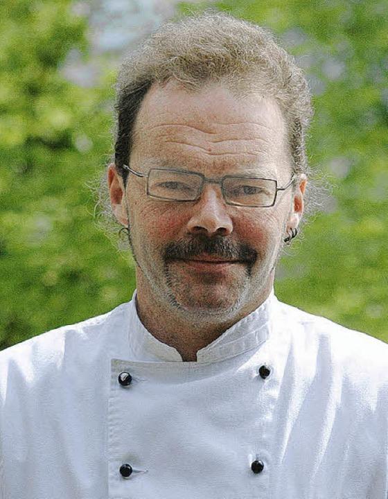Jochen Müller findet, dass gutes Essen glücklich macht.     Foto: Speckner