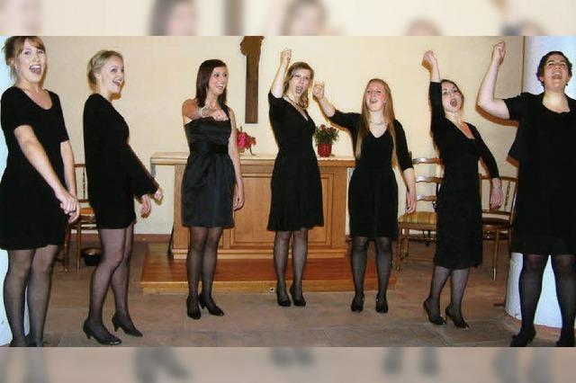 """Wiesentäler Girlgroup: Ein letztes """"Déjà-vu"""""""