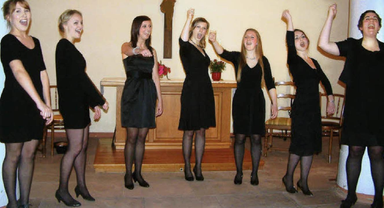 Mit schönen Stimmen und großem Charme ...llten evangelischen Kirche in Hausen.   | Foto: Roswitha Frey