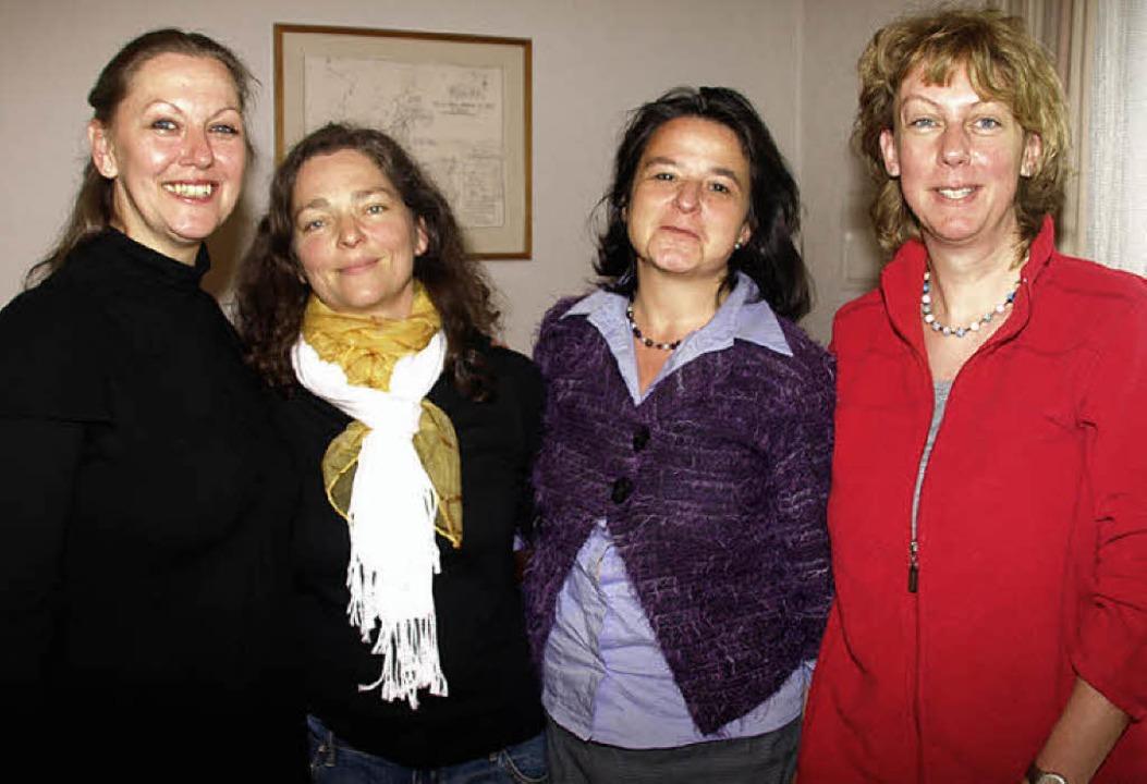 Der Vorstand des Förderkreises des Tan... Kassenwartin Antje Berger (von links)    Foto: Karin Stöckl-Steinebrunner